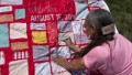 Quilt tells survivors' stories
