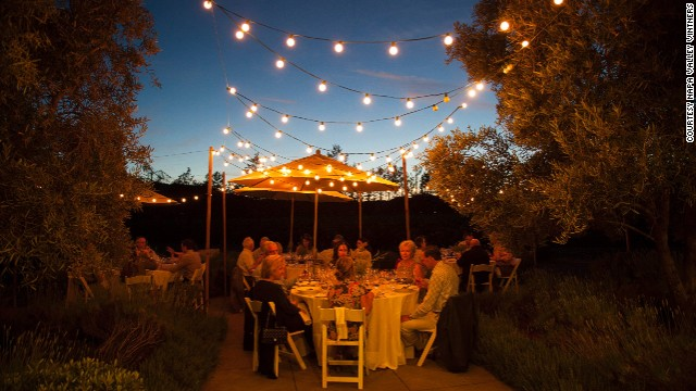 The first evening of the tour features a dinner and wine reception at Far Niente winery, one of the most highly regarded wineries in Napa Valley.