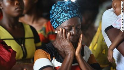 70,000 trapped in 'quarantine zone'