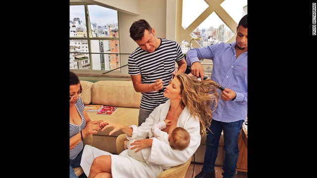 Celebrity Breastfeeding Moms in Videos - Guess Who?