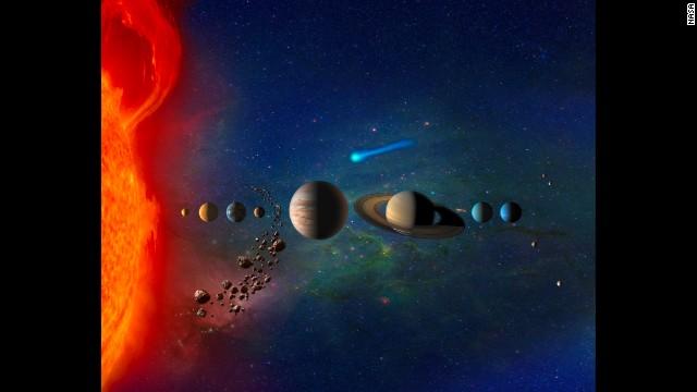 El sistema solar está dentro de una burbuja de gas muy caliente, aseguran científicos