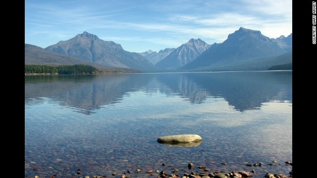 Visitors to Glacier National Park in Montana shouldn't miss driving the Going-to-the-Sun Road, <a href='http://www.nps.gov/glac/planyourvisit/gttsrfaq.htm' target='_blank'>a 50-mile road</a> which crosses the park from the borders of its east to west entrances.