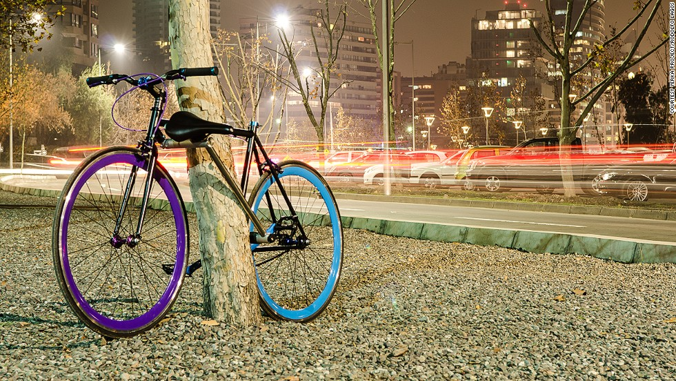 """Every second, a bike gets stolen somewhere in the world. Three engineering students from Chile think they have a solution to the problem: the <a href='www.yerkaproject.com' target='_blank'>Yerka</a> bicycle, currently a prototype, has a lock that is made out of the frame. The only way to steal it is to break the lock and therefore the bike. They call it """"the world's first unstealable bike"""". <!-- --> </br><!-- --> </br>By <strong><a href='https://twitter.com/Justintyme75' target='_blank'>Jacopo Prisco</a></strong>, for CNN."""