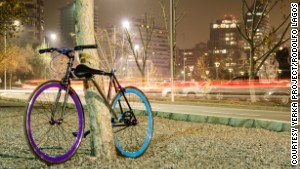 Is this the world's first unstealable bike?