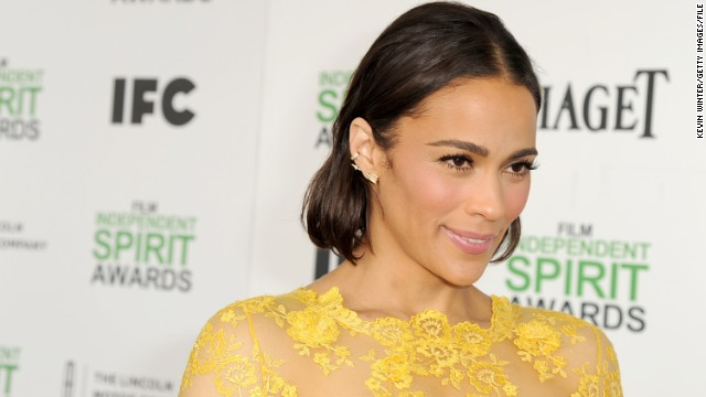 Paula Patton spotted at Emmys party