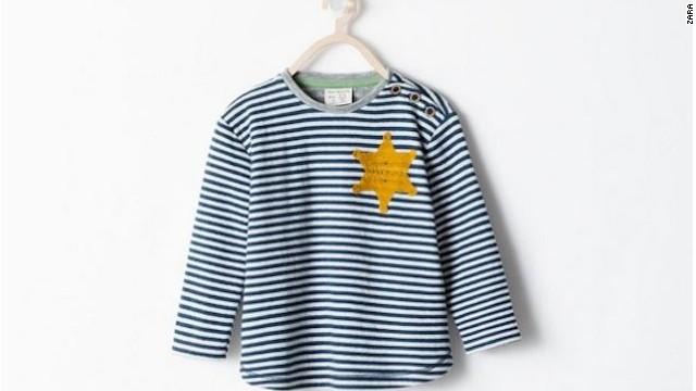 Zara retira de la venta una camiseta por parecerse al uniforme del Holocausto