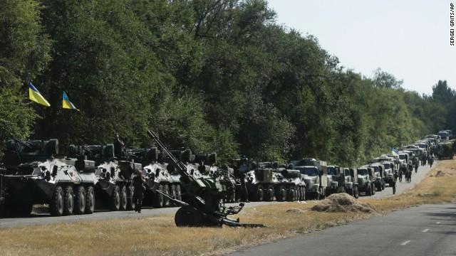 """Ucrania acusa a Rusia de maquinar una """"invasión a gran escala"""""""