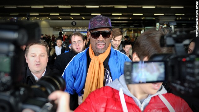 "Earlier this year, former U.S. basketball player Dennis Rodman caused a stir by organizing a basketball event in North Korea, during which he sang ""Happy Birthday"" to the North Korean leader."