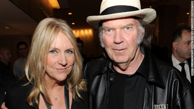 Neil Young had more than a wife in Pegi Young (left); he also had a musical collaborator, and a muse for some of his most classic love songs. But according to Rolling Stone, Young filed for divorce from his wife of 36 years in July 2014.