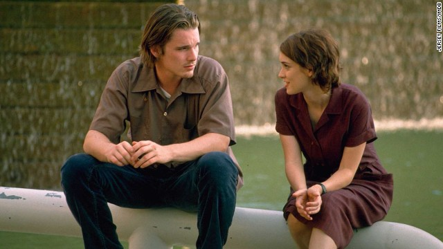 """Ben Stiller made his directorial debut with the cult classic """"Reality Bites."""" Ethan Hawke and Winona Ryder play two recent graduates navigating post-collegiate life. The indie film, also starring Stiller and Janeane Garofalo, struck a chord with the Generation X market and was punctuated with timely pop-culture references."""