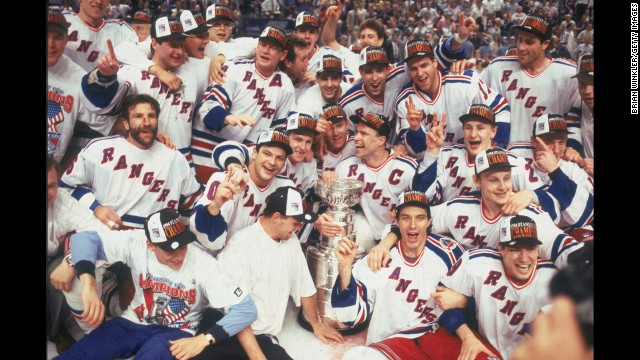 On June 14, the New York Rangers defeated the Vancouver Canucks in game seven of hockey's Stanley Cup finals.