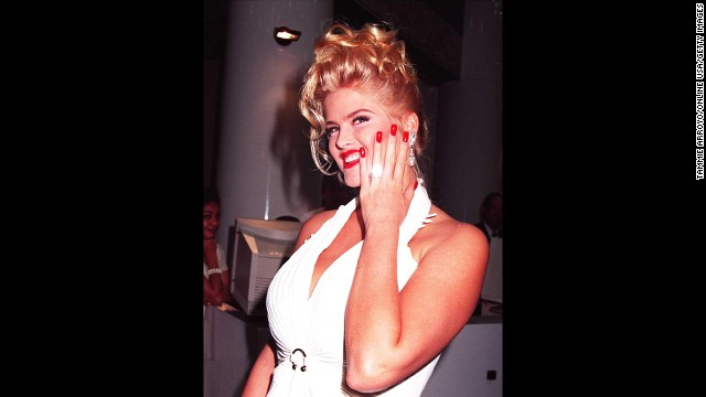 In another shocking nuptial, Playboy model Anna Nicole Smith wed billionaire J. Howard Marshall. The groom was 89 years old and the bride 26.