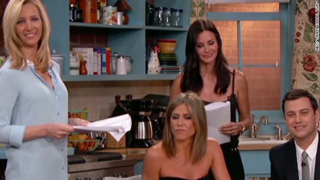 Mónica, Rachel y Phoebe vuelven a ser 'Friends' con Jimmy Kimmel