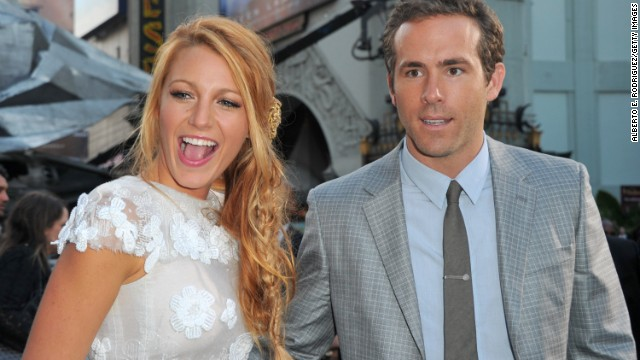 "For Blake Lively and Ryan Reynolds, it seems a picture is the best way to say ""we're expecting."" The couple, who married in 2012, seemed to announce their impending arrival with a photo of Lively cradling what appears to be a growing baby bump on her website Preserve."