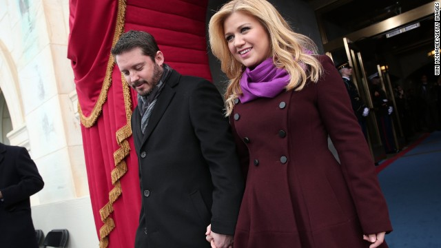 At first, <a href='http://marquee.blogs.cnn.com/2013/08/22/kelly-clarkson-who-needs-a-wedding/?iref=allsearch' target='_blank'>Kelly Clarkson tried to trick us into believing</a> that she and Brandon Blackstock wouldn't have a wedding, and instead would just elope. But in October 2013, <a href='http://www.cnn.com/2013/10/21/showbiz/kelly-clarkson-wedding/index.html?iref=allsearch' target='_blank'>she shared photos of herself and her new husband</a> getting hitched at Blackberry Farms in Tennessee.