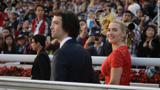 It's hard to be inconspicuous when your husband-to-be's last name is Rocknroll, but Kate Winslet managed it anyway. After quietly getting engaged in the summer of 2012, Winslet and Ned Rocknroll had a super-private wedding in New York in early December -- and the rest of the world was none the wiser <a href='http://marquee.blogs.cnn.com/2012/12/27/kate-winslet-weds-ned-rocknroll/?iref=allsearch' target='_blank'>until the end of the month.</a>
