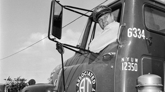 Vision of the past: Driverless vehicles could redefine the role of the truck driver.