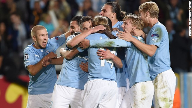 Malmo, which reached the European Cup final in 1979, is playing in the Champions League group stage for the very first time.