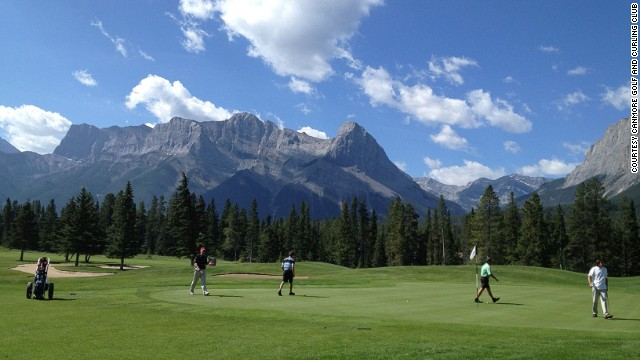 In the heart of an alpine village, Canmore Golf Club is a public space that embraces visitors with natural beauty and easygoing hospitality.