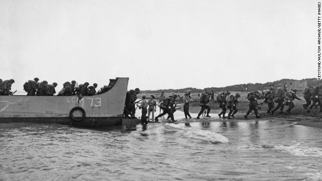 British troops land near Algiers during Operation Torch in November 1942. Operation Torch was the British-American invasion of Vichy-held French North Africa, and marked the first major action by the Western allies against the German army.