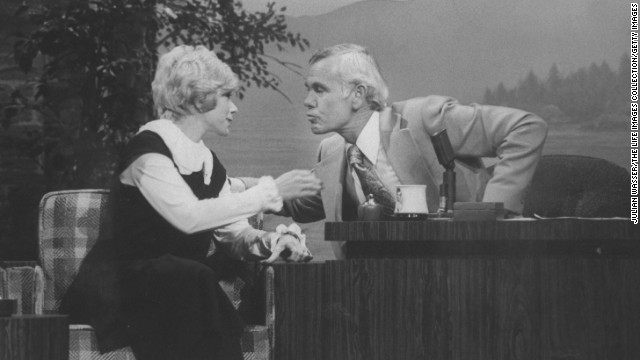 "Rivers' big break came in an appearance on Johnny Carson's ""Tonight Show"" in 1965. It was the beginning of a relationship that would include dozens of appearances as guest and guest host."