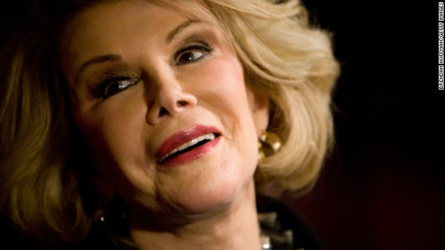 Joan Rivers, despedida en un funeral al estilo Hollywood, como ella lo quiso