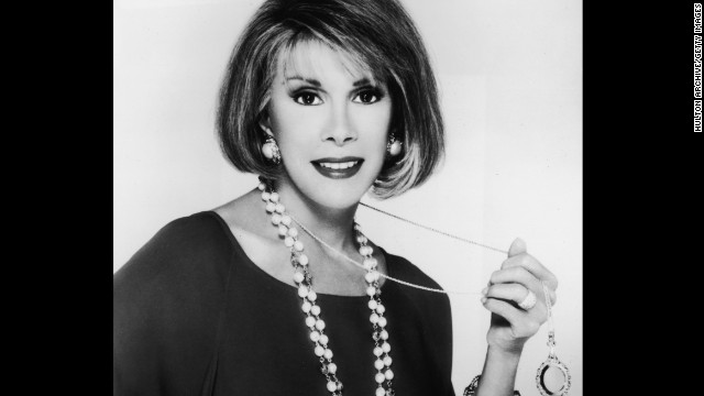 Comedian Joan Rivers died Thursday, September 4, a week after suffering cardiac arrest during a medical procedure, her daughter said. She was 81. Click through the gallery to look back at her career.