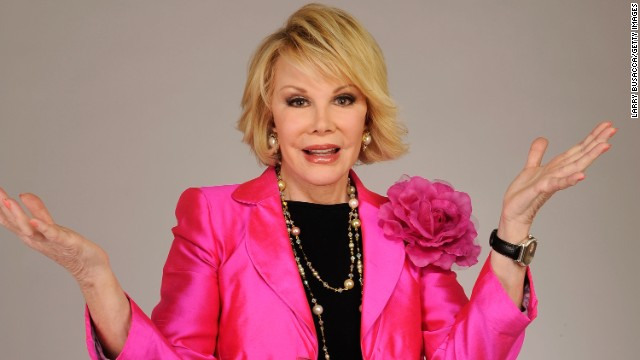 "<a href='http://www.cnn.com/2014/09/04/showbiz/celebrity-news-gossip/joan-rivers-obit/index.html' target='_blank'>Joan Rivers</a>, the sassy comedian whose gossipy ""can we talk"" persona catapulted her into a career as a headlining talk-show host, best-selling author and red-carpet maven, died September 4. She was 81."