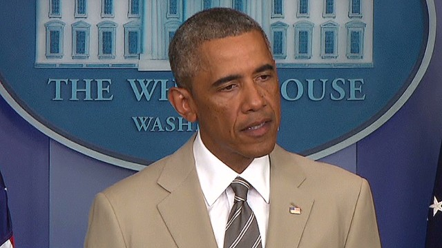 That time Obama wore a tan suit and Twitter freaked out