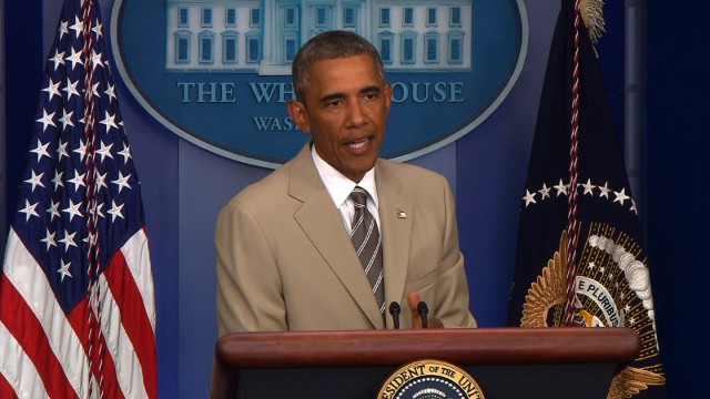 That time Obama wore a tan suit and Twitter freaked out ...