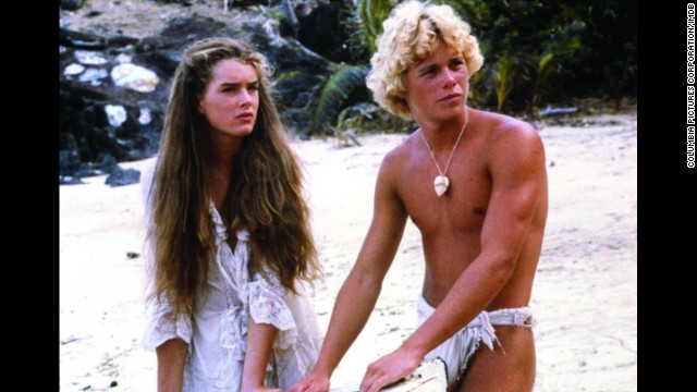 "<strong>""The Blue Lagoon"" (1980)</strong>: Young, forbidden love rules for Emmeline (Brooke Shields) and Richard (Christopher Atkins) who find themselves coming of age on a deserted island. (<strong>Netflix</strong>)"
