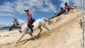 Sand, sea and saddles