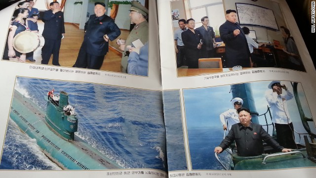 North Korean leader Kim Jong Un is everywhere in state media.