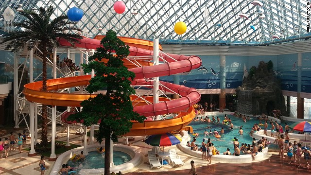 We're told Kim Jong Un scrutinized water park plans 113 times and had high ranking officials safety test slides.