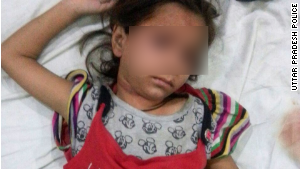 The little girl who was allegedly buried alive after an attack has been discharged from the hospital.