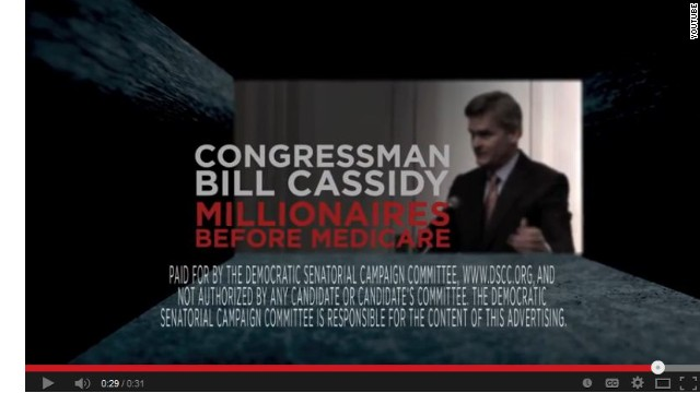 Helping Landrieu, DSCC goes after Cassidy on Medicare