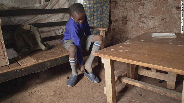 According to Kenya's Ministry of Health, 1.4 million people are infested with jiggers, a debilitating foot parasite. Around 80% of those affected are school-aged children.