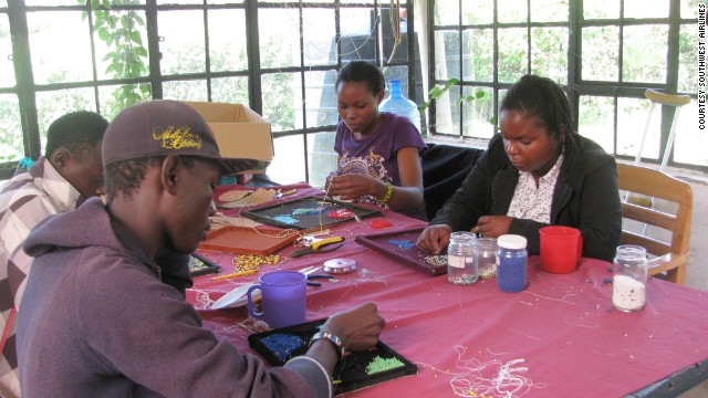 Southwest's primary partner is SOS Children's Villages Kenya, which provides paid apprenticeships and training to orphaned children. Many of these kids will use the leather to learn job skills that could take them through life, according to Southwest.