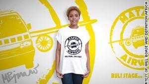 Trendy tees redefining Africa