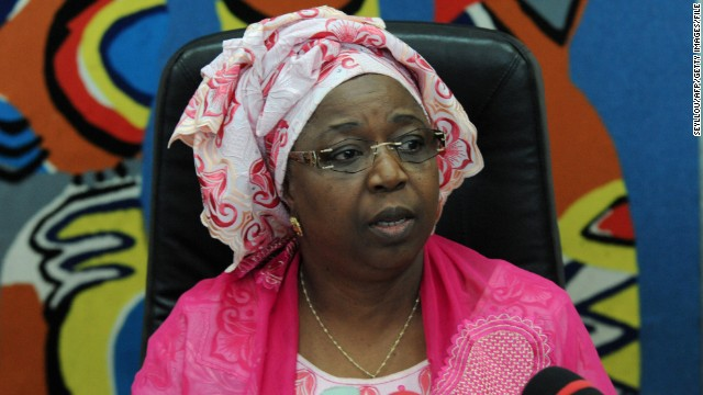 Senegalese Health Minister Awa Marie Coll-Seck gives a press conference on August 29 in Dakar to confirm the first case of Ebola in Senegal. The health minister announced that a young Guinean had tested positive for the deadly virus.
