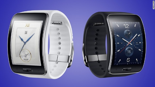 The Samsung Gear S, the company's third-generation smartwatch, made an advance many users, and reluctant nonusers, had been clamoring for. It has 3G connectivity and can be used without tethering it to a smartphone. Unveiled August 27, it is scheduled to ship in October, with no price yet announced.