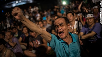 Hong Kong braces for protests