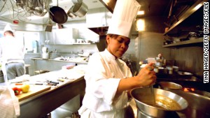 White House chef like a 'baseball coach'