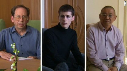 U.S. men detained in N. Korea speak
