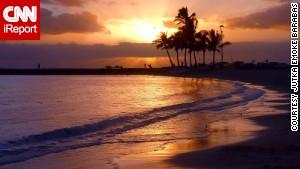 Jutka Emoke Barabas has visited many beaches around the world, but says Hawaii's Waikiki has a