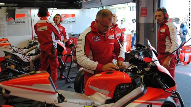 Ducati had a mixed weekend at the British MotoGP, with Italian Andrea Dovizioso missing a podium place by under a second, while home favorite Cal Crutchlow could only manage a disappointing 12th place.
