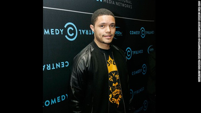 A former <a href='http://edition.cnn.com/video/data/2.0/video/international/2013/02/08/african-voices-trevor-noah-comedian-b.cnn.html' target='_blank'>guest of African Voices, Trevor Noah is a hilarious South African comic</a> has gone from hometown hero to international superstar. Noah, whose act often centers on race and ethnicity, has appeared on Late Show with David Letterman, and the UK panel show QI.