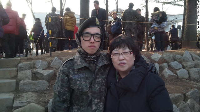 For Yoon's mother Ahn Mi-ja, the most important thing is that her son did not die in vain; that a culture of bullying within the military will change -- a culture the military claims starts at school.