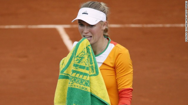 The news, revealed just ahead of the French Open, devastated Wozniacki and she lost in the first round in Paris.