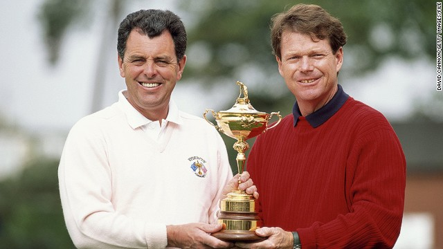 As captain in 1993, back at the Belfry, Watson again went head-to-head with longtime adversary Gallacher, as the U.S. looked to win for a second consecutive time.